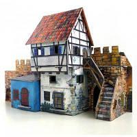 Сборная модель Умная бумага Дом у стены серии Средневековый город (250)
