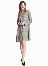 Сукня H&M міні клітинка комбінована