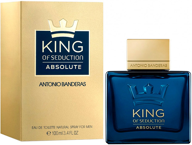 Antonio Banderas  King of Seduction Absolute  100ml мужская туалетная вода, tester