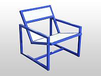 Кресло металлическое, фото 1