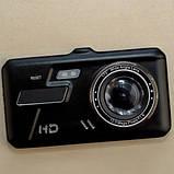 Авторегістратор з камерою заднього виду сенсорний, фото 2