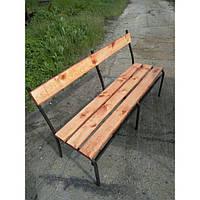 Лавочка садовая разборная 400х500х1450 мм (скамейка)