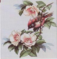 B299 Набор для вышивания крестом  Птичка