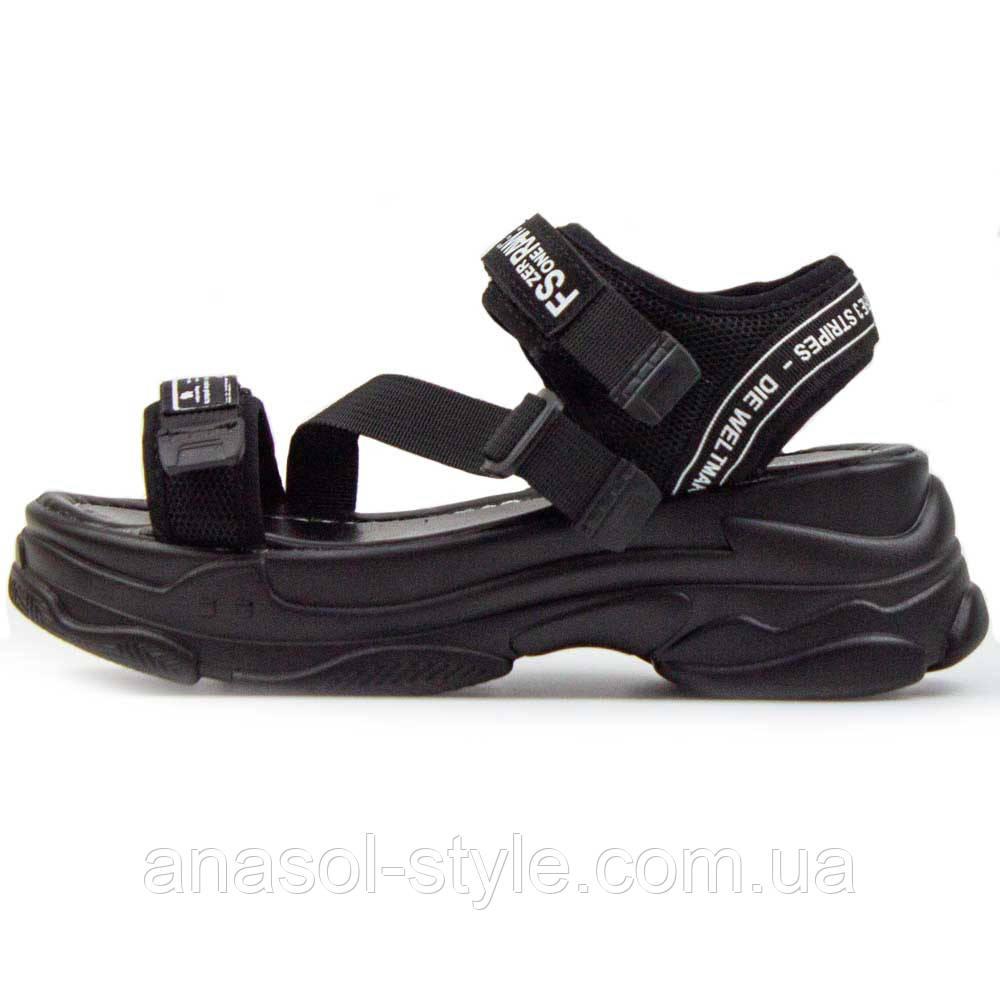 Сандалии Allshoes WG черные