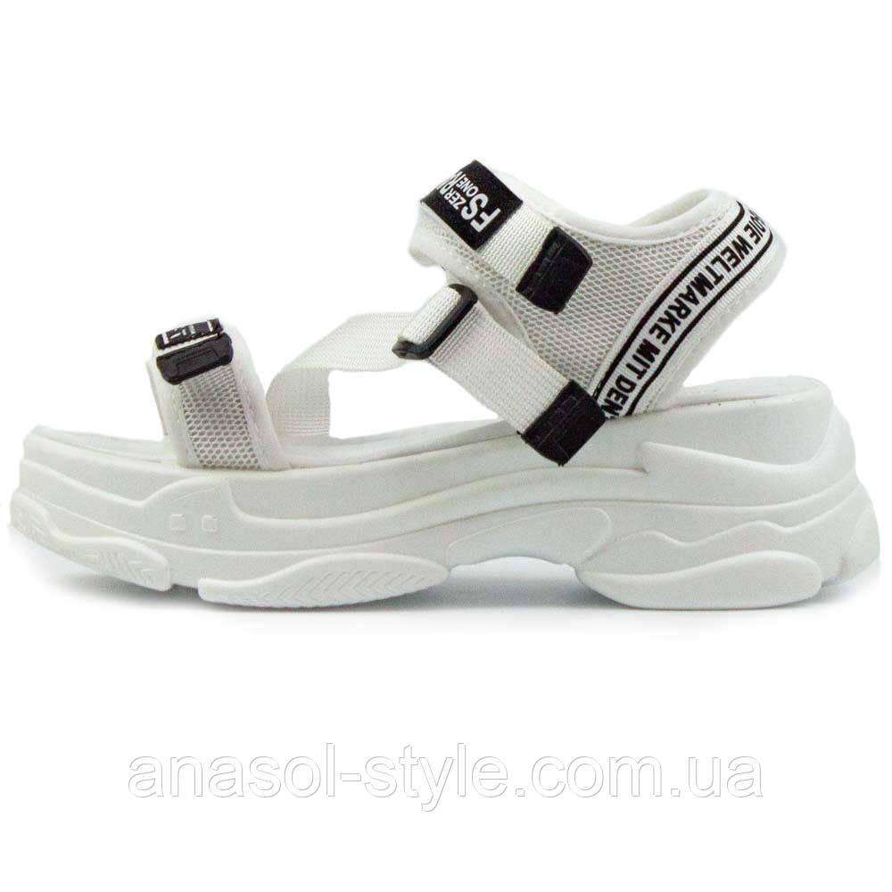 Сандалии Allshoes WG белые