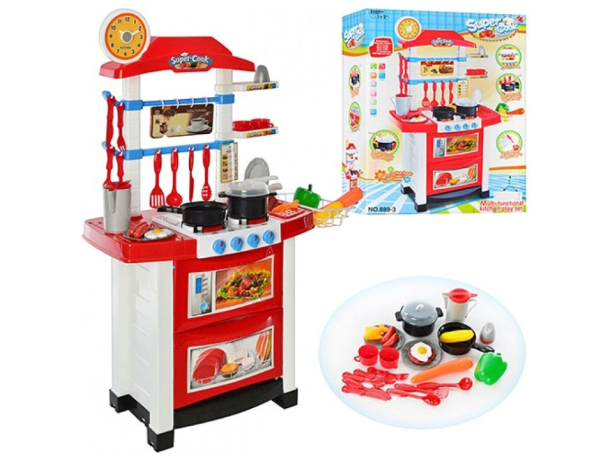 Детская игровая кухня Bambi 889-3 М