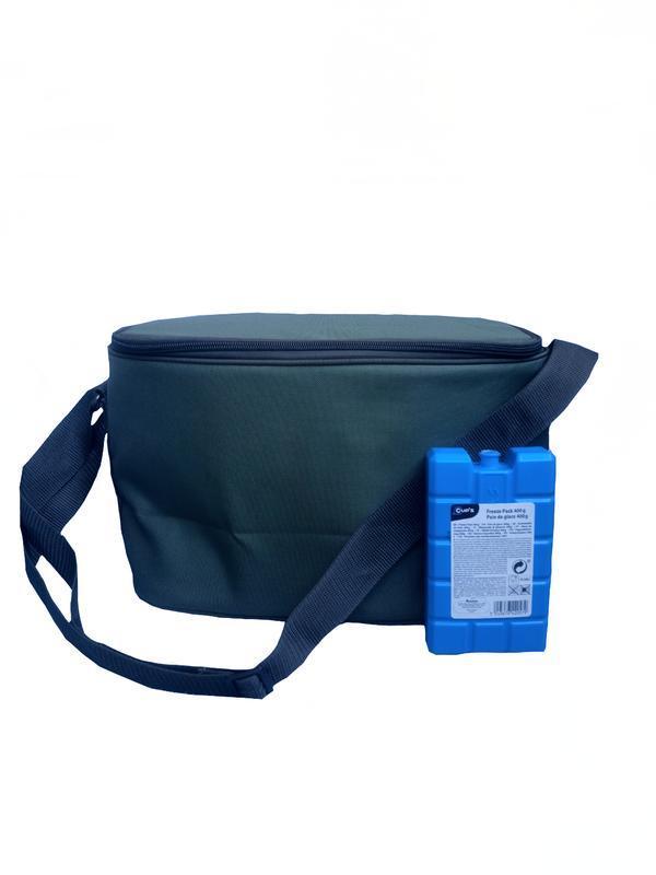 Термосумка Denavi Денави, сумка-холодильник 12 л з акумулятором холоду в комплекті для пива, для продуктів