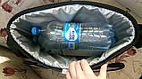 Термосумка Denavi Денави, сумка-холодильник 12 л з акумулятором холоду в комплекті для пива, для продуктів, фото 4