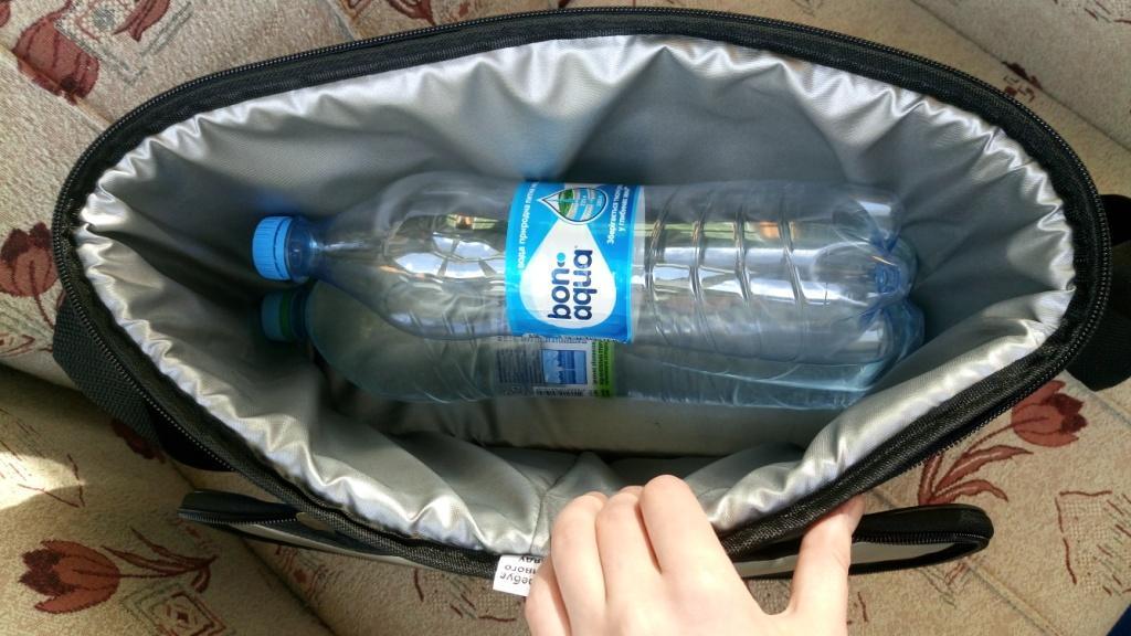 Термосумка Denavi Денави, сумка-холодильник 12 л с аккумулятором холода в комплекте для пива, для продуктов - фото 4
