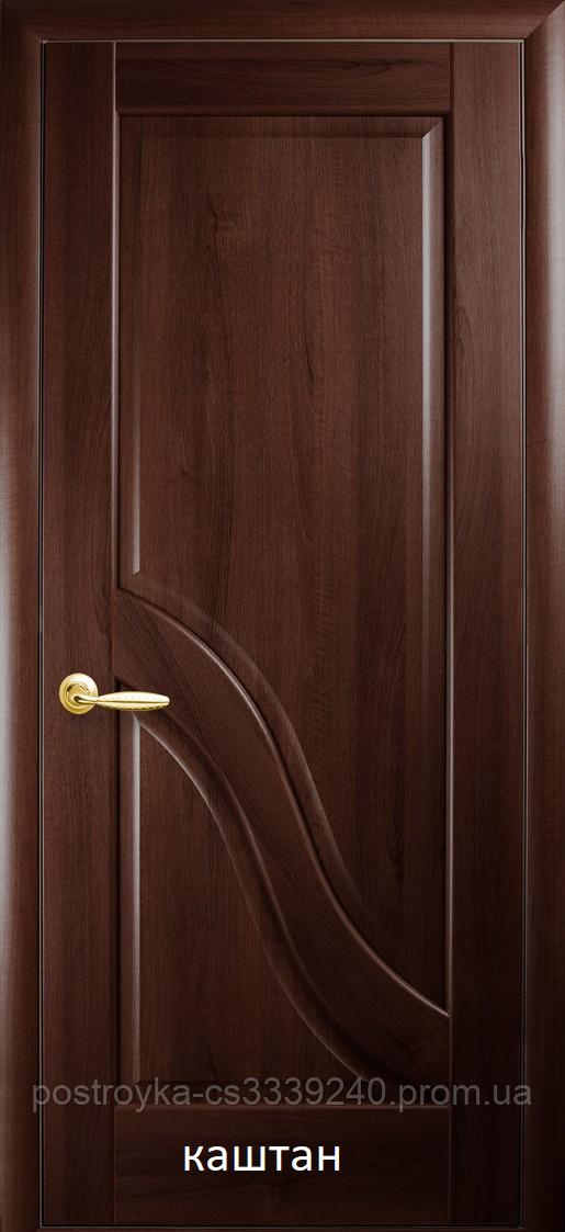 Двері міжкімнатні Маестра Амата Новий Стиль ПВХ глухі 60, 70, 80, 90