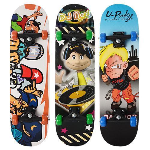 Детский скейт деревянный Profi MS 0322-3 размер деки 78-19,5см