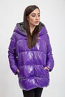 Куртка женская 132R002 цвет Фиолетовый