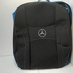 Чехлы на сиденья Mercedes VITO 2003- (1+1) / автомобильные чехлы Мерседес Вито (NIKA)