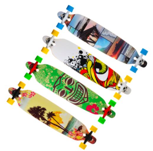 Скейт лонгборд Longboard 4109B до 100 кг