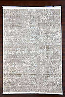 Бежевый прямоугольный ковер, абстракция, фото 1