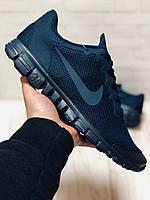 Кроссовки Мужские Nike (Найк) FreeRun 3.0,Blue