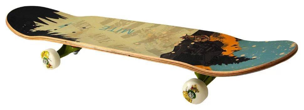 Дерев'яний скейтборд Maraton Apolo Cat 2901, фото 2