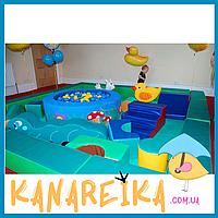 Детская игровая мягкая комната 36 кв.