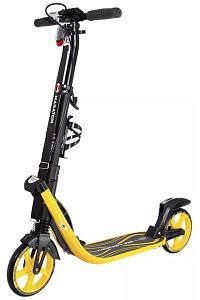 Быстрый складной самокат Maraton Concept 210 алюминиевый двухколесный для подростков и взрослых