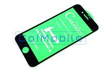 Стекло защитное iPhone 7, iPhone 8, iPhone SE2, SE 2020 2,5D Full Screen Full Glue Ceramica черное