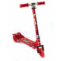 Самокат Scooter для детей складной 3 цвета