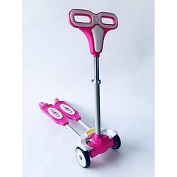 Самокат оригинальный Scooter детский городской от 4-х лет до 60 кг