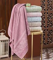 Лицевое махровое полотенце Упаковка 50*90 Julia Bella 6 шт