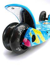 Дитячий триколісний самокат 072SD вік від 2 років, фото 3