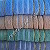 Махровое банное полотенце Золотые полосы