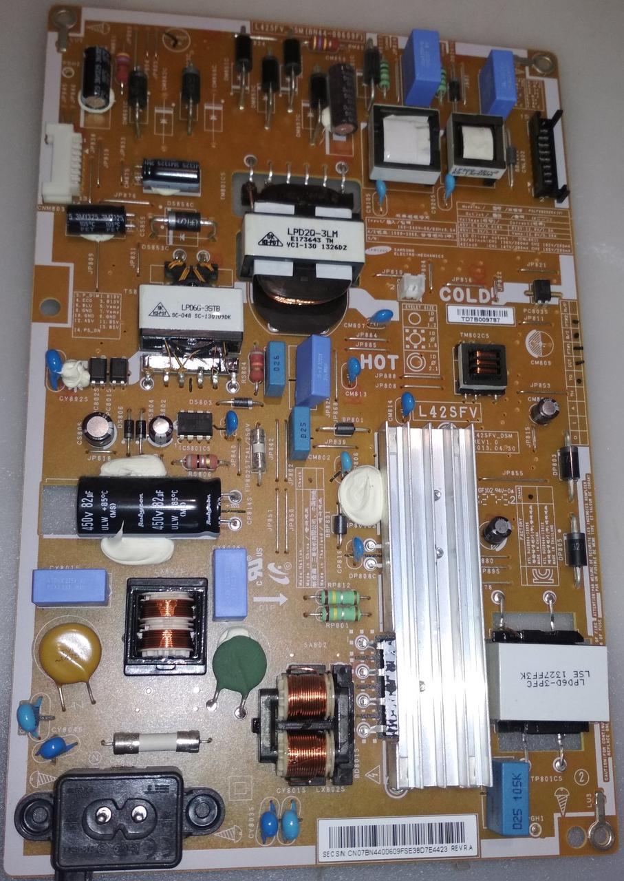 Блок живлення BN44-00609F до телевізора SAMSUNG UE42F5020AK