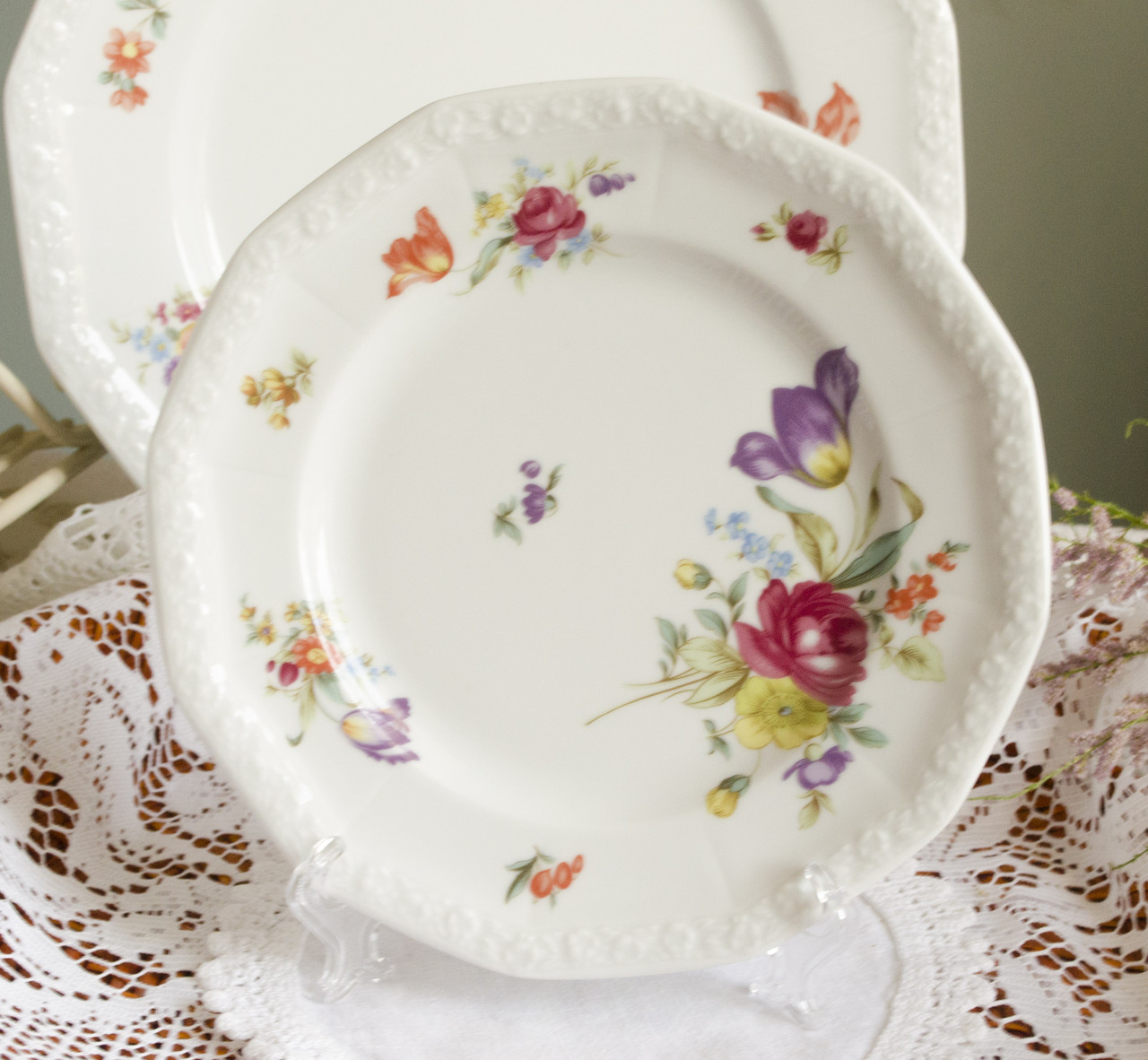 Коллекционная фарфоровая тарелка, Rosenthal, кoллекция Маriа Sommerstraus, Германия