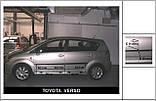 Молдинги на двері для Toyota Corolla Verso 2 2004-2009, фото 2