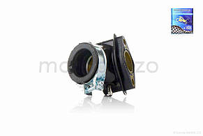 Патрубок карбюратора коллектор на скутер 4T GY6 125/150