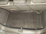 Коврик в багажник  HYUNDAI Getz 2002- хб. (полиуретан), фото 2