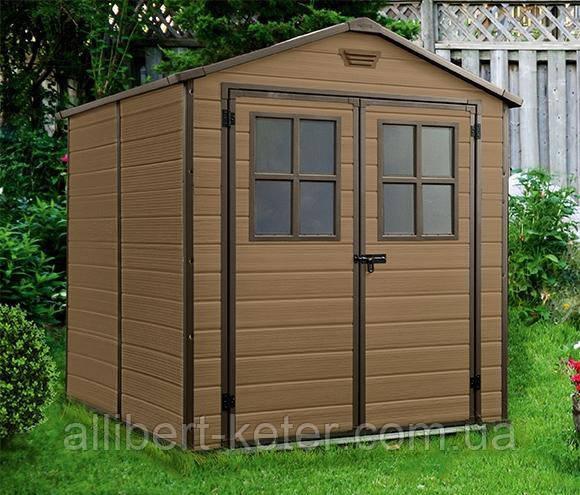 Садовый домик сарай Keter Scala 6x8 Shed