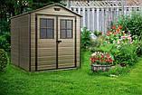 Садовий будиночок сарай Keter Scala 6x8 Shed, фото 5