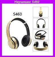 Наушники Bluetooth S460,Беспроводные наушники
