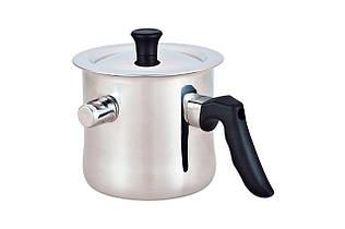 Молочник со свистком Maestro, нержавеющая сталь 1.5 л