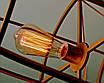 Люстра дерев'яна СОНЦЕ by smartwood | Люстра лофт | Дизайнерський світильник, фото 7