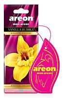 Ароматизатор Areon Mon сухий листочок Ваніль бабл Vanilla Bubble MA29