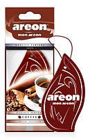 Ароматизатор Areon Mon сухий листочок Кава Coffee MA25