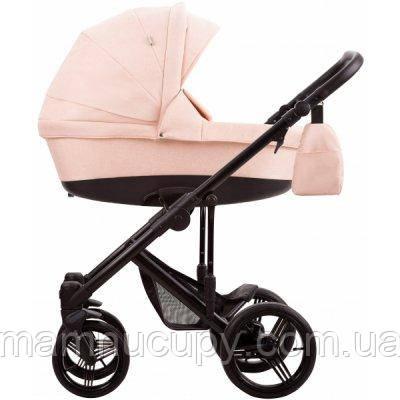 Детская универсальная коляска 2 в 1 Bebetto Magnum Lux 07 Бежевый / Черная рама