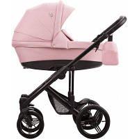 Детская универсальная коляска 2 в 1 Bebetto Magnum Lux 01 Розовый / Черная рама