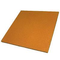 Гумова плитка 500х500х15 мм (помаранчева) PuzzleGym, фото 1