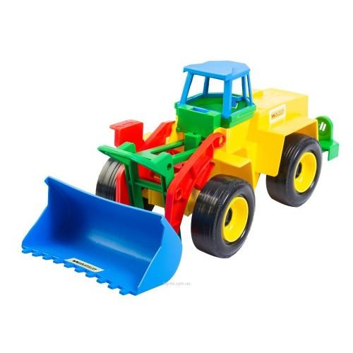 Трактор Экскаватор 16 * 15 * 36см (Wader)