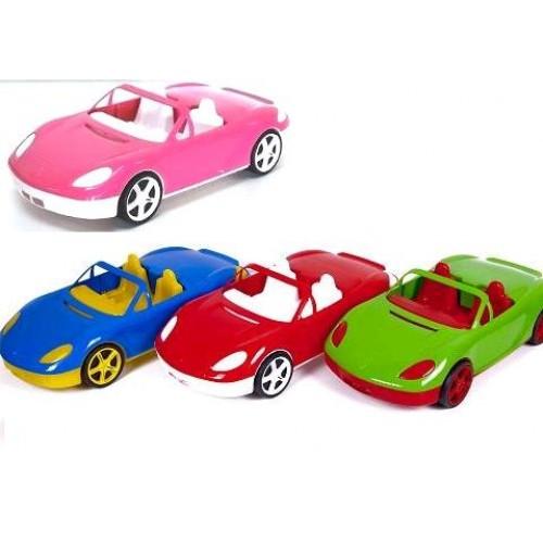 Машина 07-701-1 Кабриолет 12цветов (45 * 18 * 17см.) (Киндер Вей)