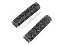 Грипсы, накладки на ручки велосипедные резиновые МЯГКИЕ Feel Fit