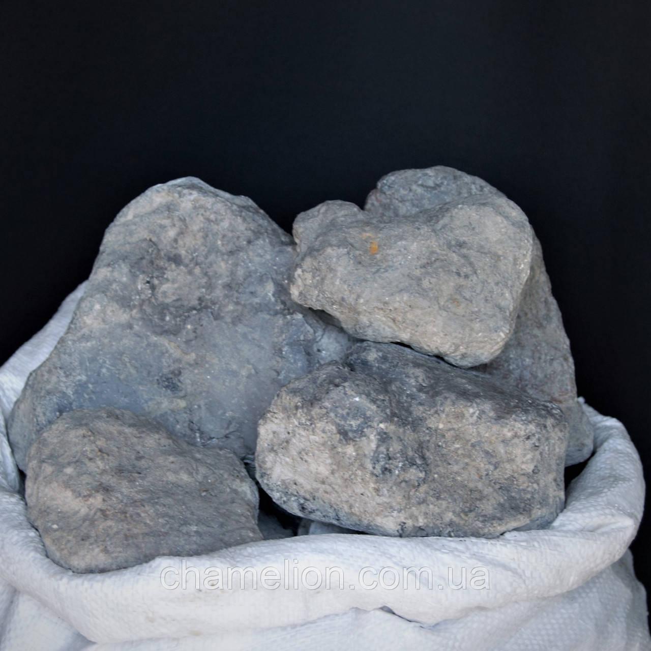 Голубая глина кусковая