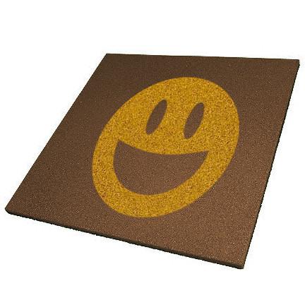 Гумова плитка з логотипом 500х500х15 мм PuzzleGym