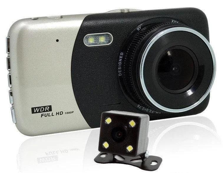 Видеорегистратор DVR CT 503с двумя камерами